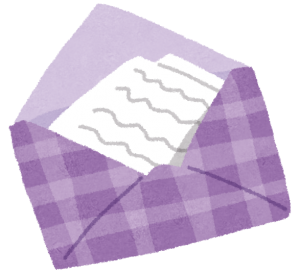 生活保護課から手紙連絡